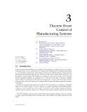 Mechanical Systems Design C3 Discrete Event
