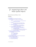 AGRICULTURAL NONPOINT SOURCE POLLUTION: Watershed Management and Hydrology - Chapter 7