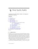 AGRICULTURAL NONPOINT SOURCE POLLUTION: Watershed Management and Hydrology - Chapter 9