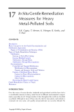 Phytoremediation of Contaminated Soil and Water - Chapter 17