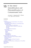 Phytoremediation of Contaminated Soil and Water - Chapter 18