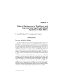 SOIL ECOLOGY IN SUSTAINABLE AGRICULTURAL SYSTEMS - CHAPTER 6