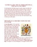 """VAI TRÒ CỦA VIỆC """"KẾT ẤN"""" TRONG KHÍ CÔNG & TĨNH TỌA TỰ CHỮA BỆNH"""