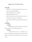 BÀI 12 : KHẢO SÁT DAO ĐỘNG ĐIỀU HÒA