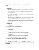 Bài 3 : MOMEN LỰC MOMEN QUÁN TÍNH CỦA VẬT RẮN
