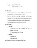 Bài 54 :QUANG PHỔ VẠCH PHÂN TÍCH QUANG PHỔ