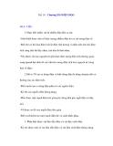 Tiết 19: Chương III: ĐIỆN HỌC