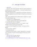 Tiết 21: DÒNG ĐIỆN- NGUỒN ĐIỆN