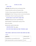 Tiết 8: A.MỤC TIÊU:GƯƠNG CẦU LÕM