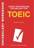 Check your Englissh vocabulary for TOEIC