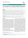 "Báo cáo y học: ""  The Psychiatric Case Register Middle Netherlands"""