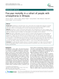 """Báo cáo y học: """" Five-year mortality in a cohort of people with schizophrenia in Ethiopia"""""""