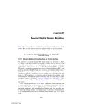 Digital Terrain Modeling: Principles and Methodology - Chapter 15 (end)
