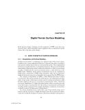 Digital Terrain Modeling: Principles and Methodology - Chapter 4