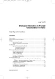 Structure and Function in Agroecosystem Design and Management - Chapter 6