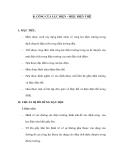 6. CÔNG CỦA LỰC ĐIỆN – HIỆU ĐIỆN THẾ