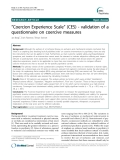 """Báo cáo y học: """" """"Coercion Experience Scale"""" (CES) - validation of a questionnaire on coercive measures"""""""