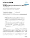 "Báo cáo y học: ""  Developmental psychopathology: Attention Deficit Hyperactivity Disorder (ADHD)"""