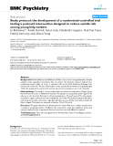 "Báo cáo y học: ""  Study protocol: the development of a randomised controlled trial testing a postcard intervention designed to reduce suicide risk among young help-seekers"""