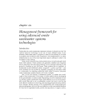 ADVANCED ONSITE WASTEWATER SYSTEMS TECHNOLOGIES - CHAPTER 6