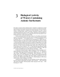 Biological effects of surfactants - Chapter 3