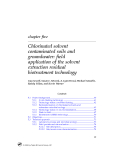 Bioremediation of Relcalcitrant Compounds - Chapter 5