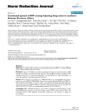 """báo cáo khoa học: """"  Continued spread of HIV among injecting drug users in southern Sichuan Province, China"""""""