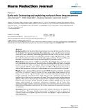 """báo cáo khoa học: """"  Early exit: Estimating and explaining early exit from drug treatment"""""""