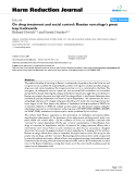 """báo cáo khoa học: """" On drug treatment and social control: Russian narcology's great leap backwards"""""""