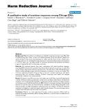 """báo cáo khoa học: """"   A qualitative study of overdose responses among Chicago IDUs"""""""
