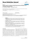 """báo cáo khoa học: """"  Mother-infant consultation during drug treatment: Research and innovative clinical practice"""""""