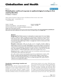 """báo cáo khoa học: """"   Globalization and local response to epidemiological overlap in 21st century Ecuador"""""""