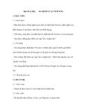 Bài 10   BA ĐỊNH LUẬT NEWTON. (2 tiết)
