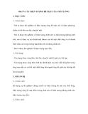 Bài 37: CÁC HIỆN TƯỢNG BỀ MẶT CỦA CHẤT LỎNG