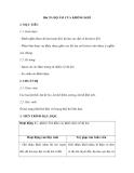 Bài 39: ĐỘ ẨM CỦA KHÔNG KHÍ