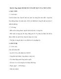Bài 40: Thực hành: ĐO HỆ SỐ CĂNG BỀ MẶT CỦA CHẤT LỎNG