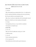 Bài 47: PHƯƠNG TRÌNH TRẠNG THÁI CỦA KHÍ LÍ TƯỞNG. ĐỊNH LUẬT GAY LUY -XÁC