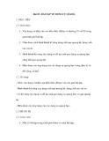 Bài 55 : BÀI TẬP VỀ DỤNG CỤ QUANG