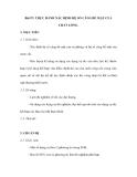 Bài 57: THỰC HÀNH XÁC ĐỊNH HỆ SỐ CĂNG BỀ MẶT CỦA CHẤT LỎNG