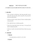 Bài 59 + 60 :HIỆN TƯỢNG QUANG ĐIỆN  CÁC ĐỊNH LUẬT QUANG ĐIỆN THUYẾT LƯỢNG TỬ ÁNH SÁNG