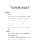 23. SUẤT ĐIỆN ĐỘNG CẢM ỨNG TRONG MỘT ĐOẠN DÂY DẪN CHUYỂN ĐỘNG