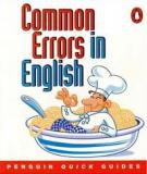Common Errors in Eghlish