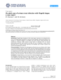 "Báo cáo y học: "" An adult case of urinary tract infection with Kingella kingae: a case report"""