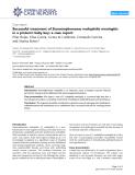 """Báo cáo y học: """" Successful treatment of Stenotrophomonas maltophilia meningitis in a preterm baby boy: a case report"""""""