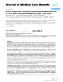 "Báo cáo y học: "" Human herpes virus 8 replication during disseminated tuberculosis in a man with human immunodeficiency virus: a case report"""