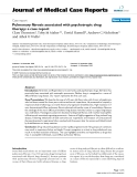 """Báo cáo y học: """"Pulmonary fibrosis associated with psychotropic drug therapy: a case report"""""""