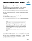 """Báo cáo y học: """" Community-acquired mastitis due to Mycobacterium abscessus: a case report"""""""