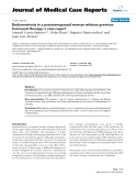 """Báo cáo y học: """" Endometriosis in a postmenopausal woman without previous hormonal therapy: a case report"""""""
