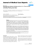 """Báo cáo y học: """" Relapsing macrophage activating syndrome in a 15-year-old girl with Still's disease: a case report"""""""