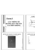 Chương 2-Các thông só đường dây truyền tải trên không